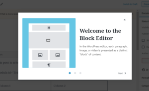 WordPress with new features